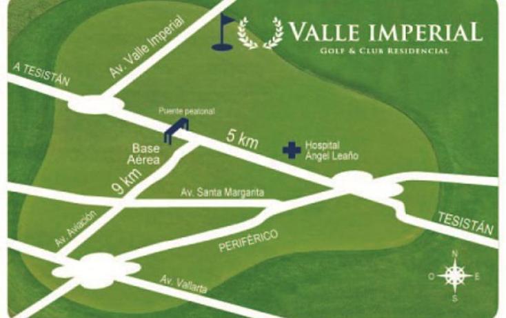 Foto de terreno habitacional en venta en  1, valle imperial, zapopan, jalisco, 1725440 No. 15