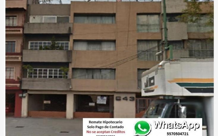 Foto de departamento en venta en  1, vertiz narvarte, benito juárez, distrito federal, 2017528 No. 01
