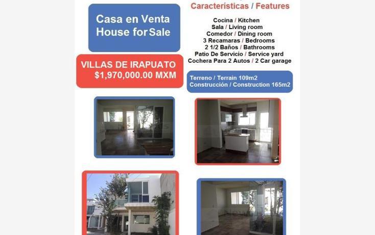 Foto de casa en venta en  1, villas de irapuato, irapuato, guanajuato, 1640872 No. 01