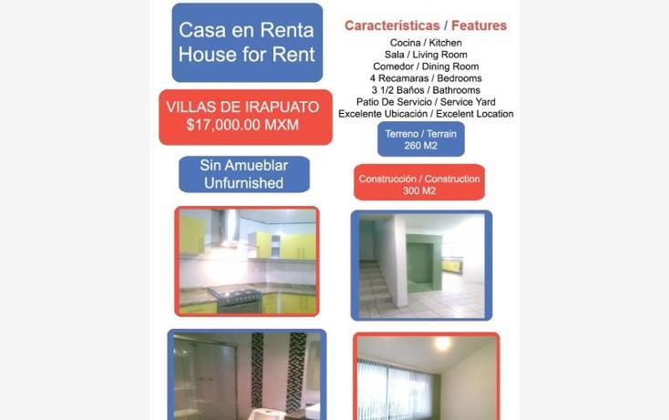 Foto de casa en renta en  1, villas de irapuato, irapuato, guanajuato, 1823902 No. 01