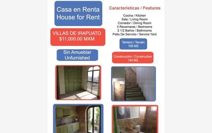 Foto de casa en renta en  1, villas de irapuato, irapuato, guanajuato, 1824254 No. 01