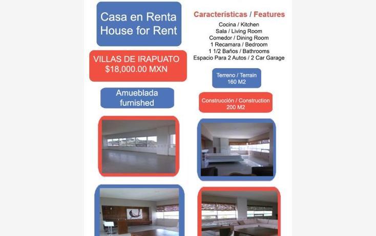 Foto de casa en renta en  1, villas de irapuato, irapuato, guanajuato, 1994272 No. 01