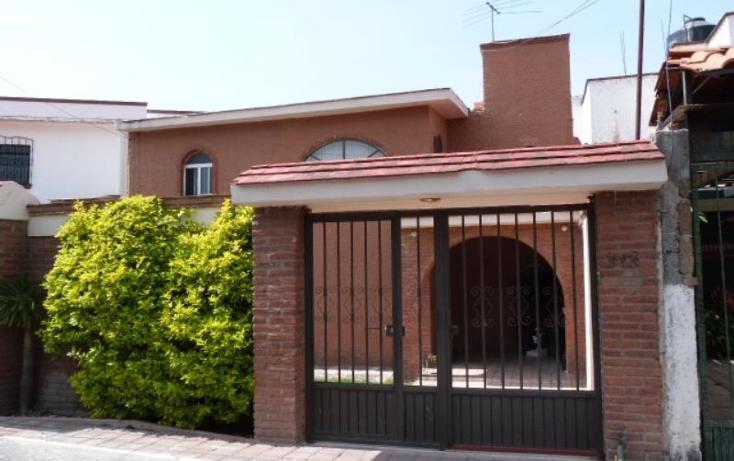 Foto de casa en venta en  1, villas del parque, querétaro, querétaro, 1780568 No. 01