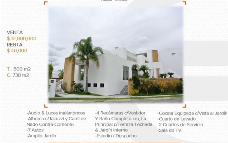 Foto de casa en venta en  1, vista real, san andr?s cholula, puebla, 1229717 No. 01