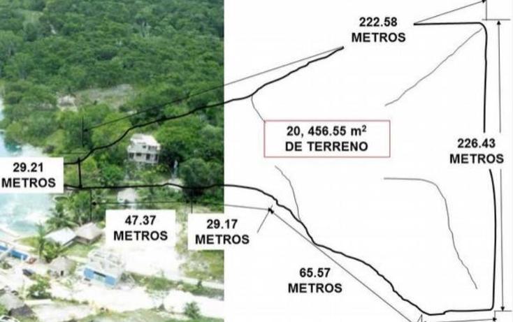 Foto de terreno comercial en venta en  1, xul-ha, othón p. blanco, quintana roo, 1849364 No. 02