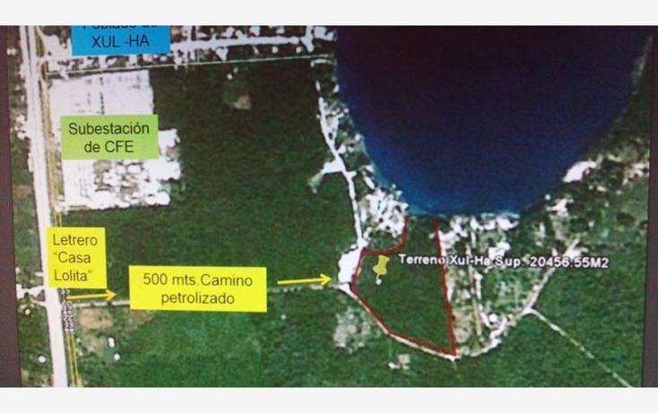 Foto de terreno comercial en venta en  1, xul-ha, othón p. blanco, quintana roo, 1849364 No. 06