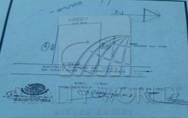 Foto de terreno habitacional en venta en 1, yerbaniz, santiago, nuevo león, 1618247 no 01