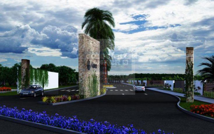 Foto de terreno habitacional en venta en 10, cholul, mérida, yucatán, 1754828 no 02
