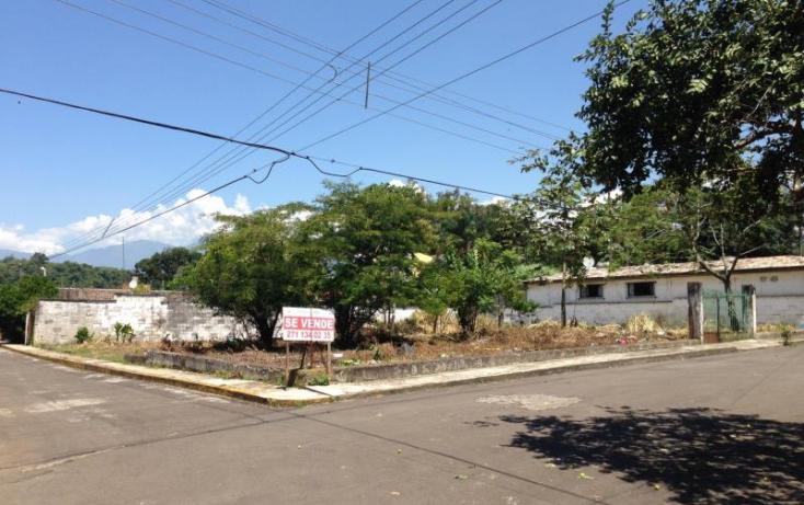 Foto de terreno habitacional en venta en 10, melesio portillo, fortín, veracruz, 391747 no 01