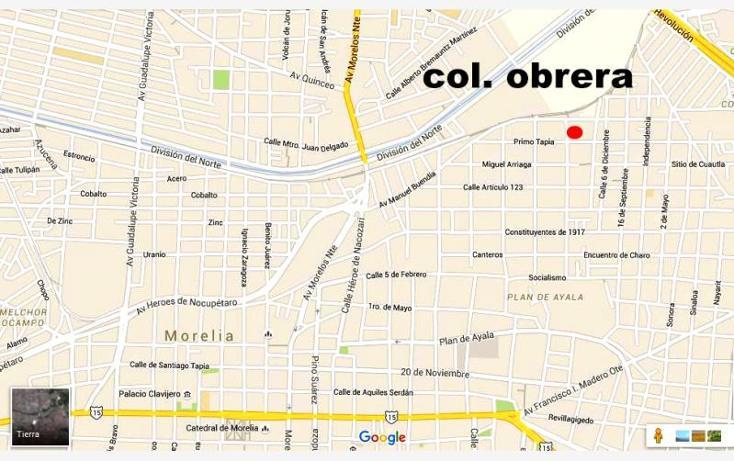 Foto de terreno habitacional en venta en  10, obrera, morelia, michoacán de ocampo, 1725384 No. 14