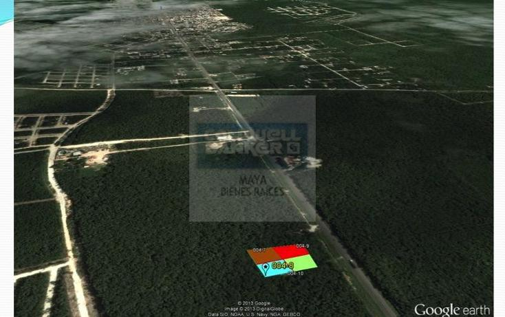 Foto de terreno habitacional en venta en  10, tulum centro, tulum, quintana roo, 332427 No. 04