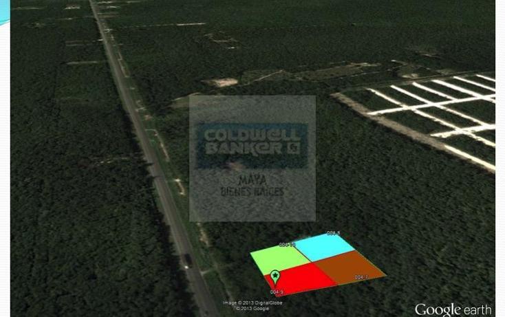 Foto de terreno habitacional en venta en  10, tulum centro, tulum, quintana roo, 332427 No. 05