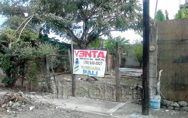 Foto de terreno habitacional en venta en  10, villa de las flores, poza rica de hidalgo, veracruz de ignacio de la llave, 1640890 No. 02