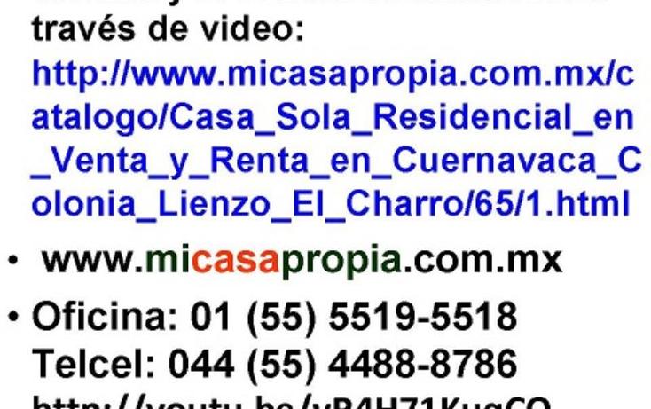 Foto de casa en renta en  100, lienzo el charro, cuernavaca, morelos, 1998682 No. 09
