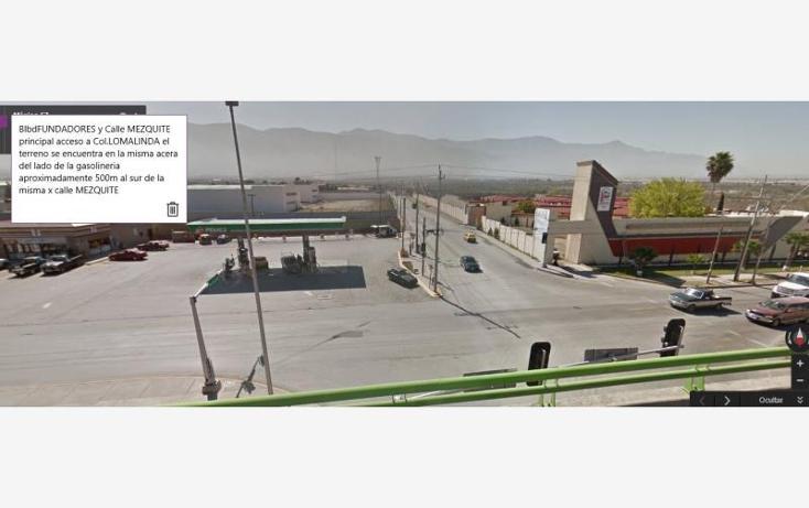 Foto de terreno habitacional en venta en  100, loma linda, saltillo, coahuila de zaragoza, 1611440 No. 03