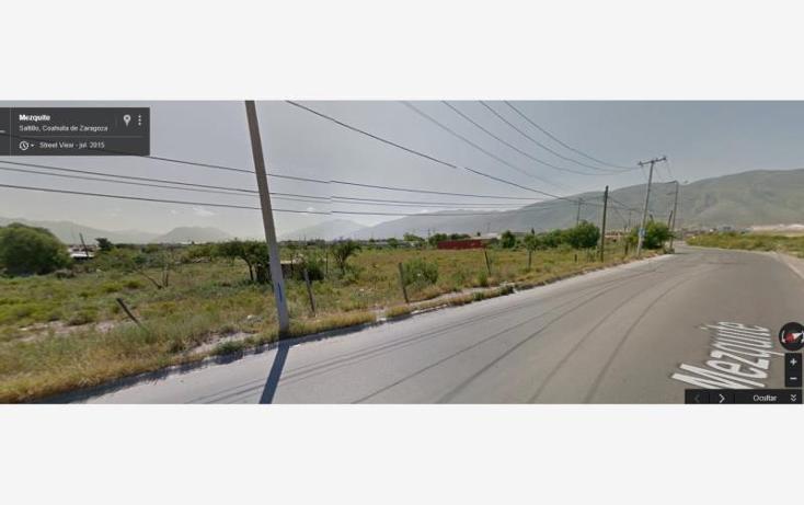 Foto de terreno habitacional en venta en  100, loma linda, saltillo, coahuila de zaragoza, 1611440 No. 04