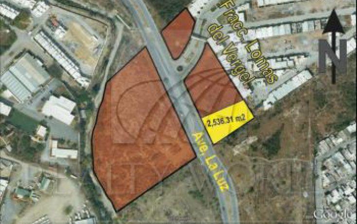 Foto de terreno habitacional en venta en 100, lomas del vergel, monterrey, nuevo león, 1596895 no 01