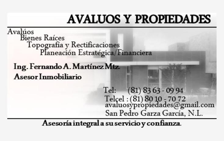 Foto de terreno comercial en venta en hierro 100, santa cruz, guadalupe, nuevo león, 1629894 No. 12
