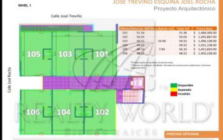 Foto de oficina en venta en 101, chepevera, monterrey, nuevo león, 1492357 no 05
