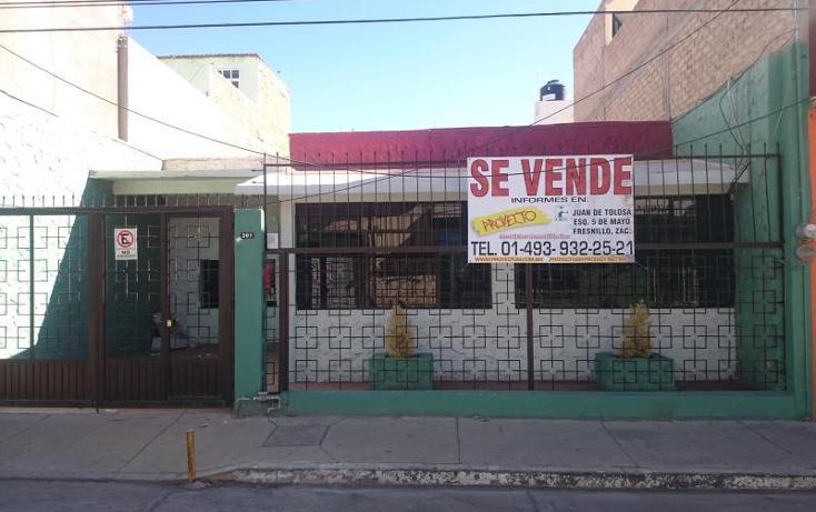 Foto de casa en venta en  103, fresnillo centro, fresnillo, zacatecas, 1986308 No. 01