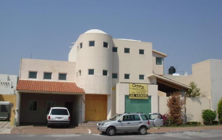 Foto de casa en venta en  105, la loma, san luis potosí, san luis potosí, 804787 No. 01