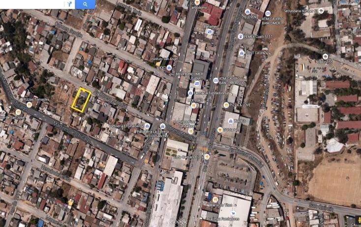 Foto de terreno habitacional en venta en  105, obrera 2a sección, tijuana, baja california, 1151685 No. 04