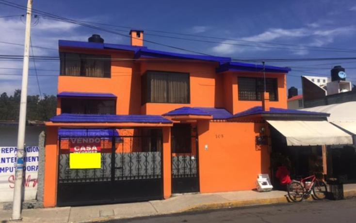 Foto de casa en venta en  105, santiaguito, metepec, méxico, 2157042 No. 01