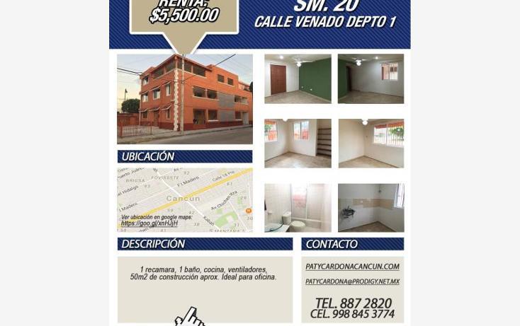 Foto de departamento en renta en  107, sm 207 villas del sol ii, benito juárez, quintana roo, 1566878 No. 03