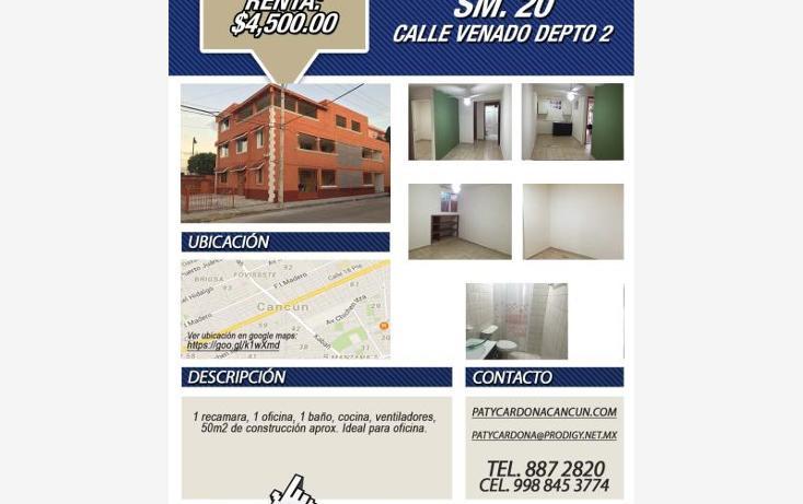 Foto de departamento en renta en  107, sm 207 villas del sol ii, benito juárez, quintana roo, 1566878 No. 04