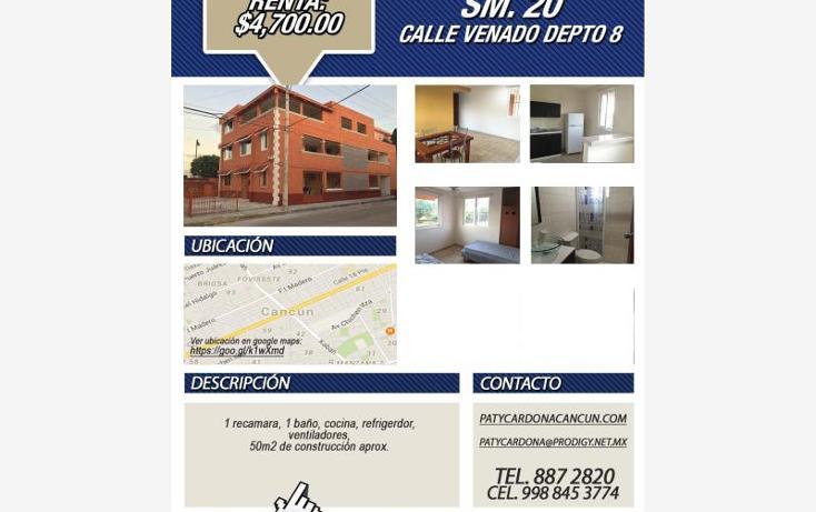Foto de departamento en renta en  107, sm 207 villas del sol ii, benito juárez, quintana roo, 1566878 No. 08