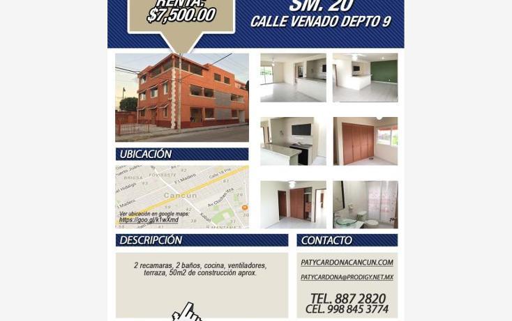 Foto de departamento en renta en  107, sm 207 villas del sol ii, benito juárez, quintana roo, 1566878 No. 09