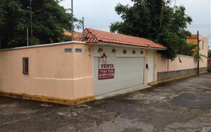 Foto de casa en venta en  11, delicias, cuernavaca, morelos, 612471 No. 01