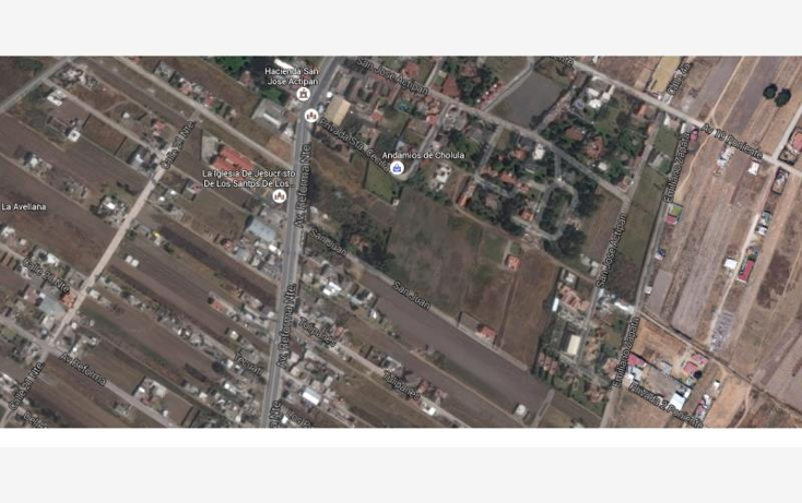 Foto de terreno habitacional en venta en  11, san rafael comac, san andr?s cholula, puebla, 1991902 No. 01