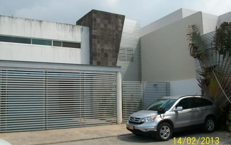 Foto de casa en venta en  111, real del sur, centro, tabasco, 425321 No. 01