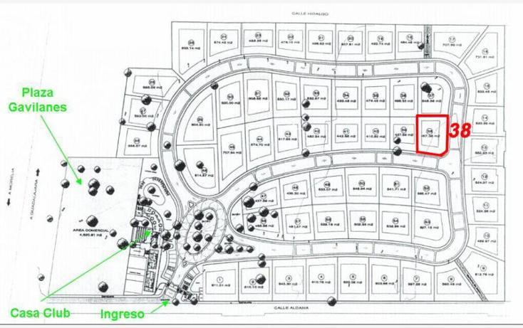 Foto de terreno habitacional en venta en  113, campo nogal, tlajomulco de zúñiga, jalisco, 1650302 No. 08