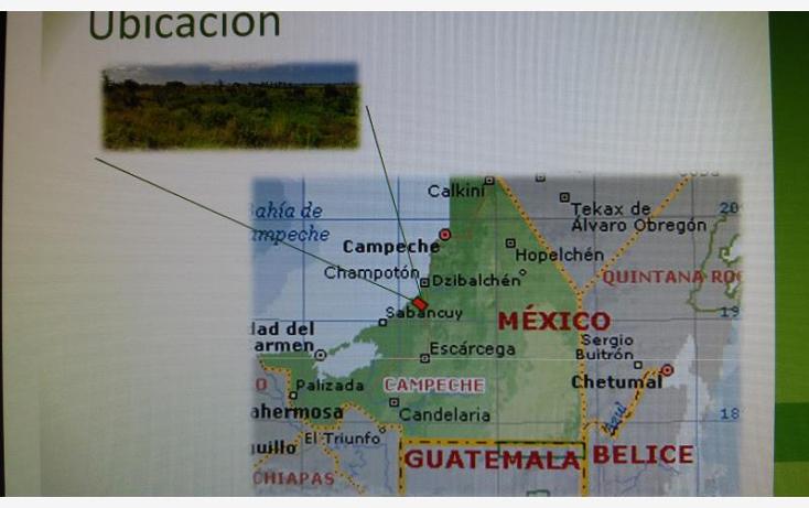 Foto de terreno habitacional en venta en  114, champot?n centro, champot?n, campeche, 1541418 No. 01
