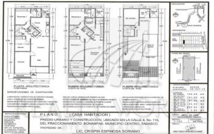 Foto de casa en venta en 116, bonampak, centro, tabasco, 1596541 no 04