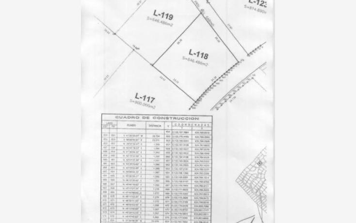 Foto de terreno habitacional en venta en  118, las parotas, villa de álvarez, colima, 813573 No. 02
