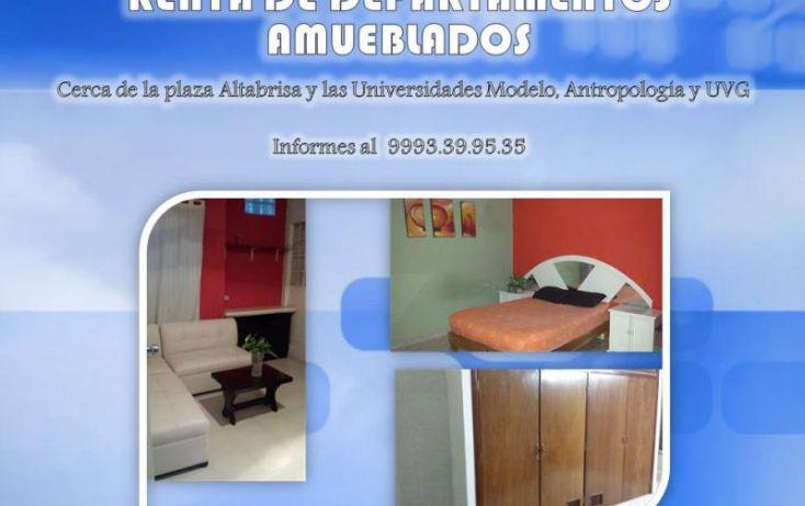 Foto de departamento en renta en 11a 601, diaz ordaz, mérida, yucatán, 1194003 no 01