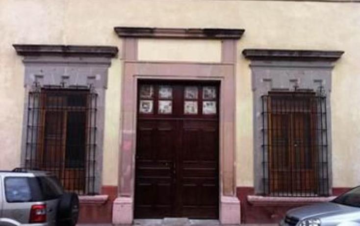 Foto de casa en venta en  12, centro sct querétaro, querétaro, querétaro, 670161 No. 01