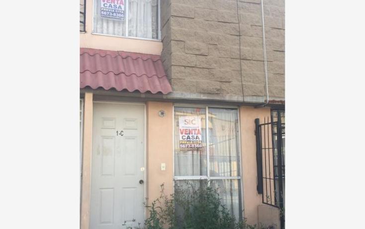 Foto de casa en venta en  12, izcalli san pablo, tultitlán, méxico, 1399041 No. 01
