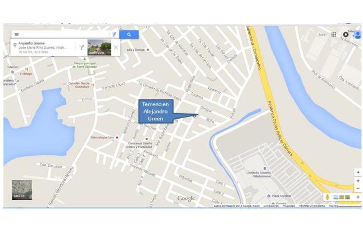 Foto de terreno habitacional en venta en  120, jose maria pino suárez, centro, tabasco, 1033167 No. 02