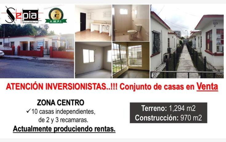 Foto de casa en venta en  121, matamoros centro, matamoros, tamaulipas, 1745423 No. 01