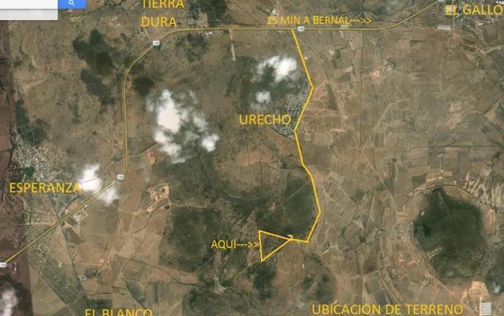 Foto de terreno habitacional en venta en  123, urecho, colón, querétaro, 786429 No. 01