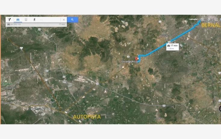 Foto de terreno habitacional en venta en  123, urecho, colón, querétaro, 786429 No. 02