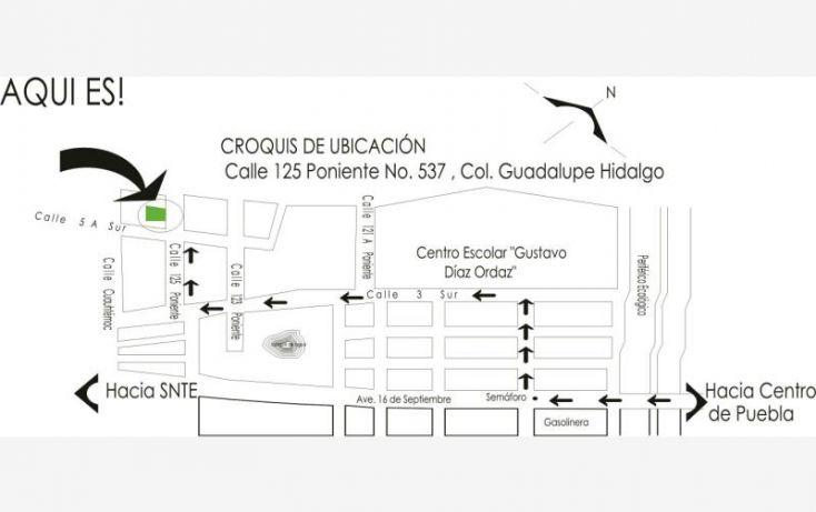 Foto de terreno habitacional en venta en 125 poniente 537, guadalupe hidalgo, nealtican, puebla, 1700382 no 02