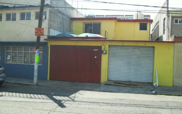 Foto de casa en venta en  128, ciudad azteca sección poniente, ecatepec de morelos, méxico, 2007308 No. 01