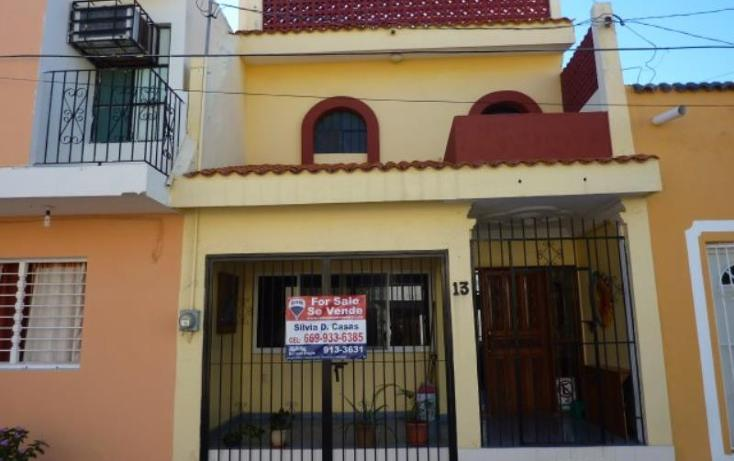 Foto de casa en venta en  13, centro, mazatlán, sinaloa, 1582128 No. 01