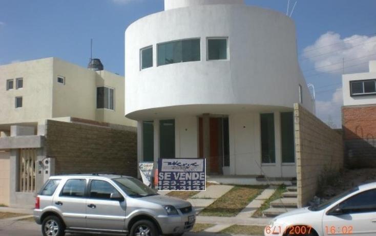 Foto de casa en venta en  135, villa magna, san luis potosí, san luis potosí, 752309 No. 01