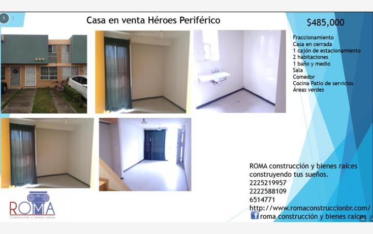Foto de casa en venta en  13628, héroes de puebla, puebla, puebla, 1594696 No. 01